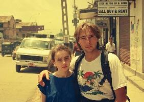 Катманду-1990, Игорь Свергун с женой Тамарой.