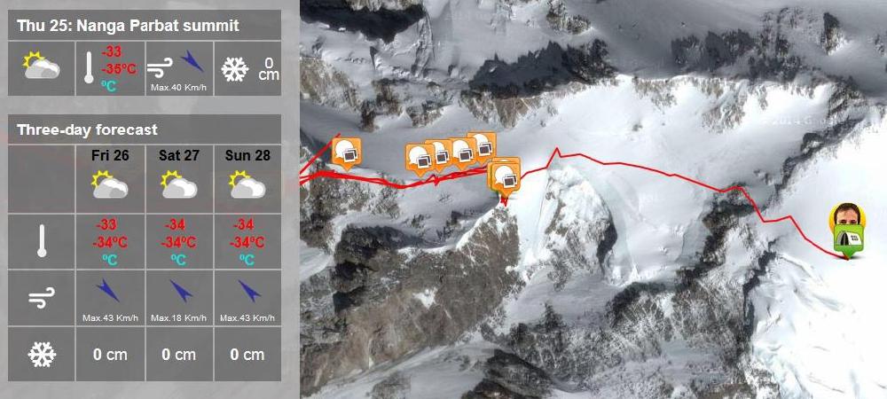 Установка четвертого высотного лагеря и прогноз погоды