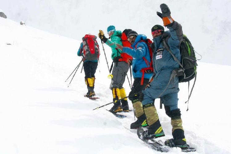 Алекс Тикон, Али Садпара, Симоне Моро и Тамара Лунгер покинули базовый лагерь.