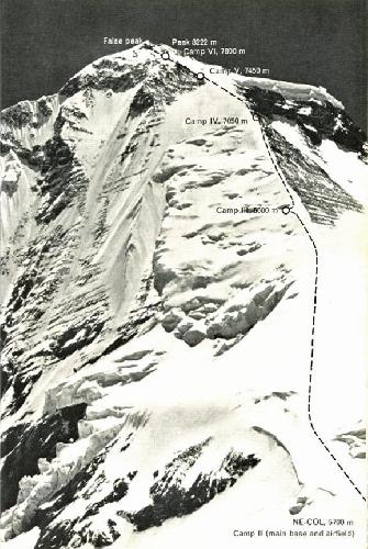 Дхаулагири. Оригинальный маршрут экспедиции 1960 года