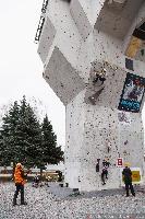 Чемпионат Украины по ледолазанию 2016 года. Фото Дениса Колесниченко