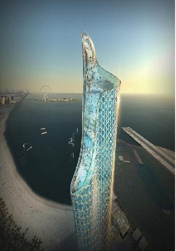 325-метровый небоскреб для экстремалов в Дубае