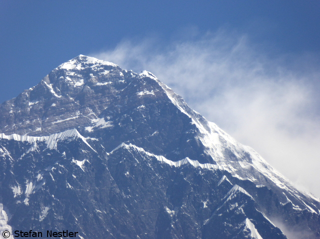 Сильный ветер на Эвересте. март 2016 года