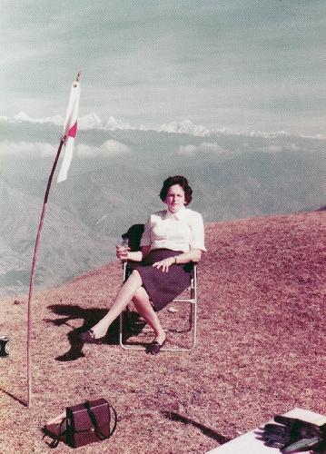Элизабет Хоули (Elizabeth Hawley) в 1960-ые годы