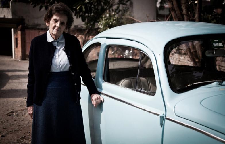 "Элизабет Хоули (Elizabeth Hawley) и ее ""жук"""