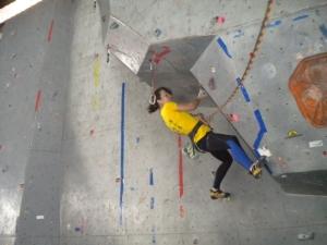В Кременчуге определили лучших скалолазов Украины среди студентов