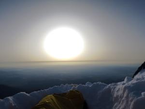 Кофе в постель с видом на горы