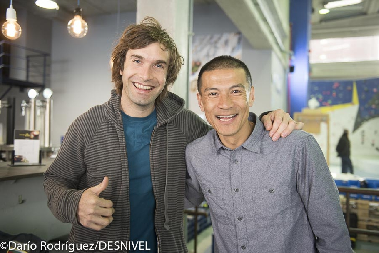 Юджи Хираяма (Yuji Hirayama) и Крис Шарма (Chris Sharma)