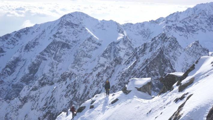 Зимние Татры в Словакии от альпинистов Кировограда и Кривого Рога