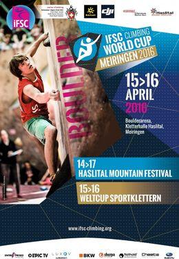 В Швейцарии состоится первый в 2016 году этап Кубка Мира по скалолазанию. От Украины выступят 4 спортсмена