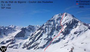 Два альпиниста погибли при восхождении на пик Миди-де-Бигор в Французских Пиренеях