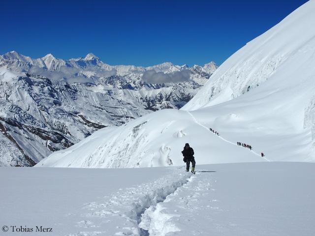 В восхождении на Химлунг Химал (Himlung Himal)