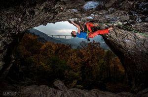 Адам Ондра на самом сложном в Словении маршруте: