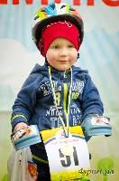 """В Киеве более 150 детей возрастом от 1 до 3 лет участвовали в велогонке """"Мы - чемпионы!"""""""