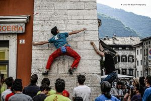 В итальянском городе Тренто прошел фестиваль уличного клайминга