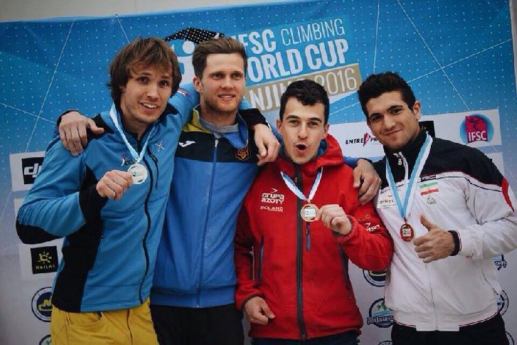 Слева направо: Либор Хроза (Libor Hroza), Даниил Болдырев (Украина), Марчин Дженски (Marcin Dzienski, Польша), Реза Алипуршеназандифар (Reza Alipourshenazandifar, Иран)