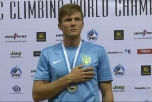 Даниил Болдырев стал бронзовым призером Кубка Мира 2016 по скалолазанию в Китае