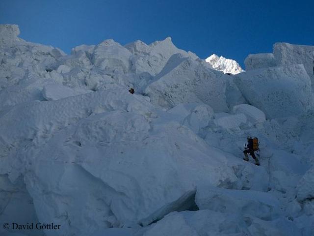 Эверест. ледопад Кхумбу
