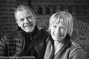 Итальянская пара Нивес Мерой (54 года!) и ее муж Романо Бене завоевывают Макалу!