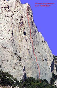 В Крыму со скалы Морчека сорвался российский альпинист