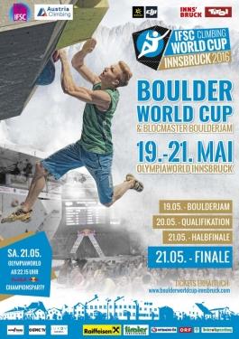 Завтра, 20 мая, в австрийском Инсбруке стартует пятый этап Кубка Мира по скалолазанию в дисциплине боулдеринг. Украину представят 4 спортсмена