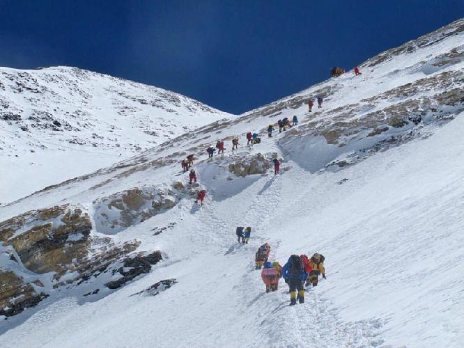 Восхождение на Эверест. май 2016 года