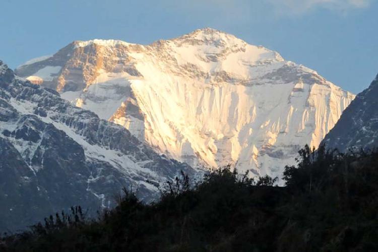 Дхаулагири (8167 м - седьмая по высоте вершина мира)