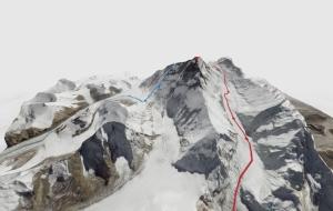 Высочайшие горы в мире впервые представлены в виде 3D модели