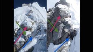 Ступень Хиллари на Эвересте по прежнему остается на месте!