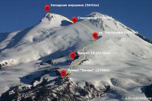 На Эльбрусе погиб альпинист из Великобритании