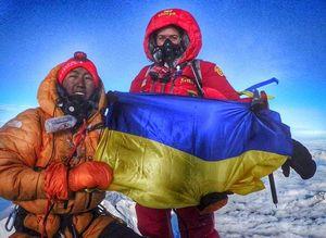 Имя первой украинки на Эвересте - Ирины Галай будет внесено в Реестр рекордов Украины!
