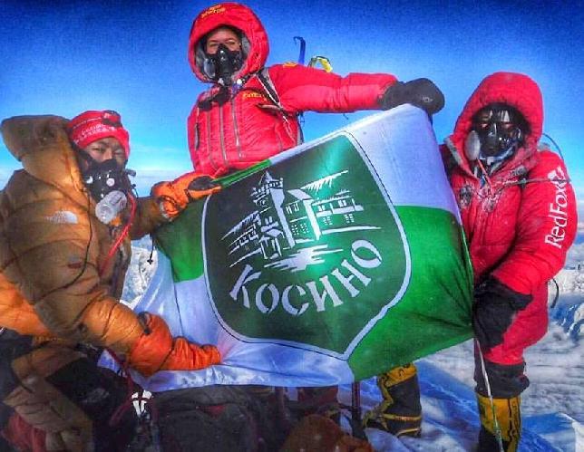 Ирина Галай на Эвересте