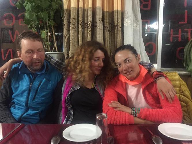 Ирена Хазарова и украинка Татьяна Яловчак