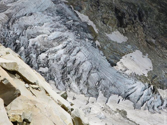 Ледопад ледника Гуль