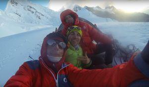 Интервью Валентина Сипавина после восхождения на вершину Алпамайо в Перу
