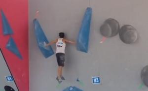 Невероятное выступление Шона МакКолла на Кубке Мира по скалолазанию в Вейле