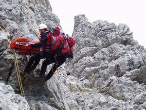 Служба спасения в Доломитовых Альпах - как это работает