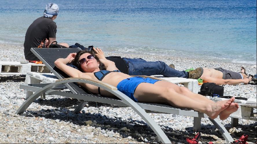 Отдых - неотъемлемая часть скалолазания.