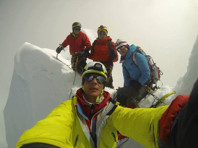 фото с вершины Алпамайо