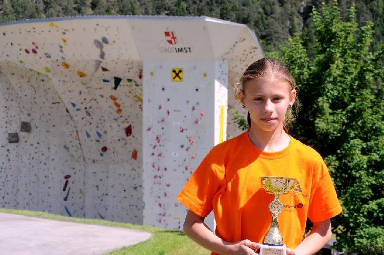 Потапова Ника — победитель международных скалолазных  стартов «Youth Colour Climbing Festival» в Австрии.