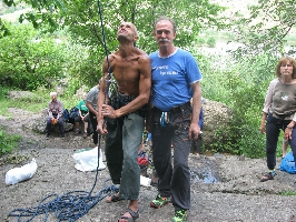 Кубкок Украины по скалолазанию среди ветеранов на естественном рельефе. Фото Татьяны Гайдай