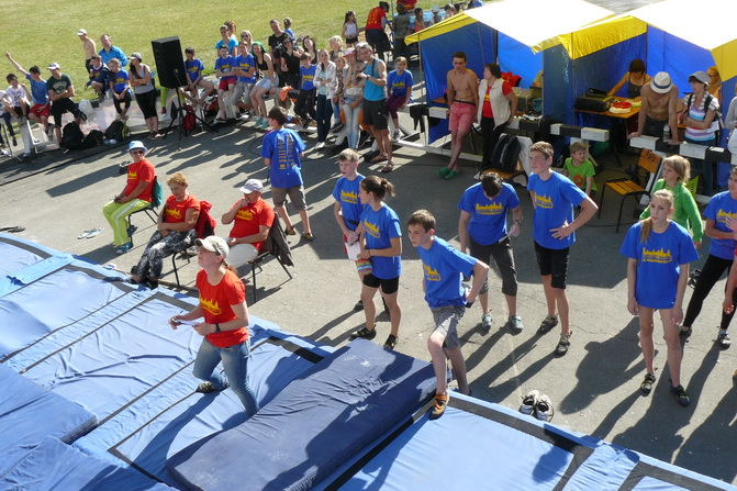 Юношеский чемпионат Украины по скалолазанию в Каменце-Подольском