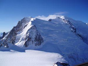 Лавина на Монблане: один альпинист погиб, двое ранены
