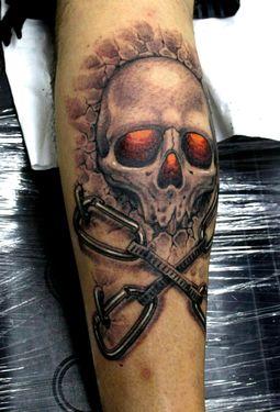 9 скалолазных татуировок