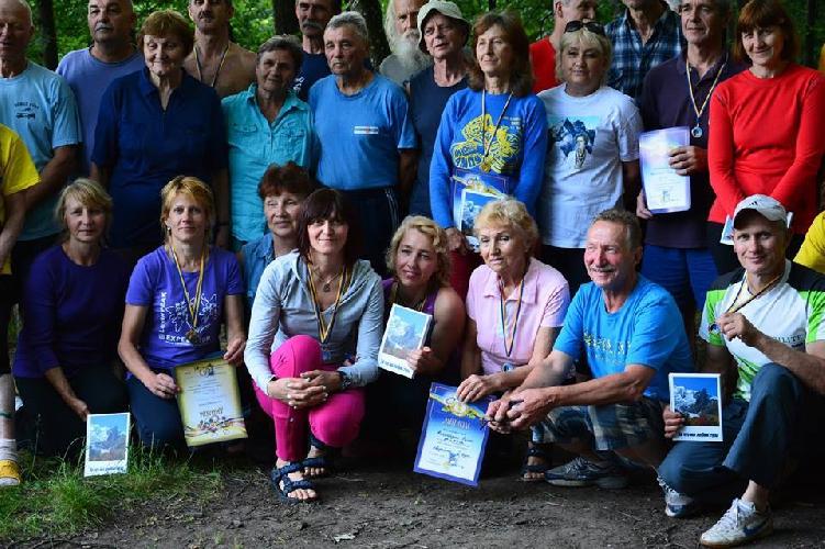 Чемпионат Киева по скалолазанию среди ветеранов на скальном массиве Денеши
