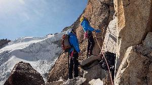 """Маршрут """"Mindfulness"""" по контрфорсу Западной стены горы Руми Маллку (Rumi Mallku, 5900 метров"""