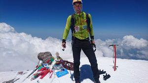 Как итальянец сообразил рекорд на Эльбрусе
