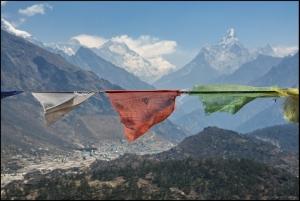Треккинг к Эвересту через перевалы Ренджо Ла и Чо Ла, с посещением озер Гокио