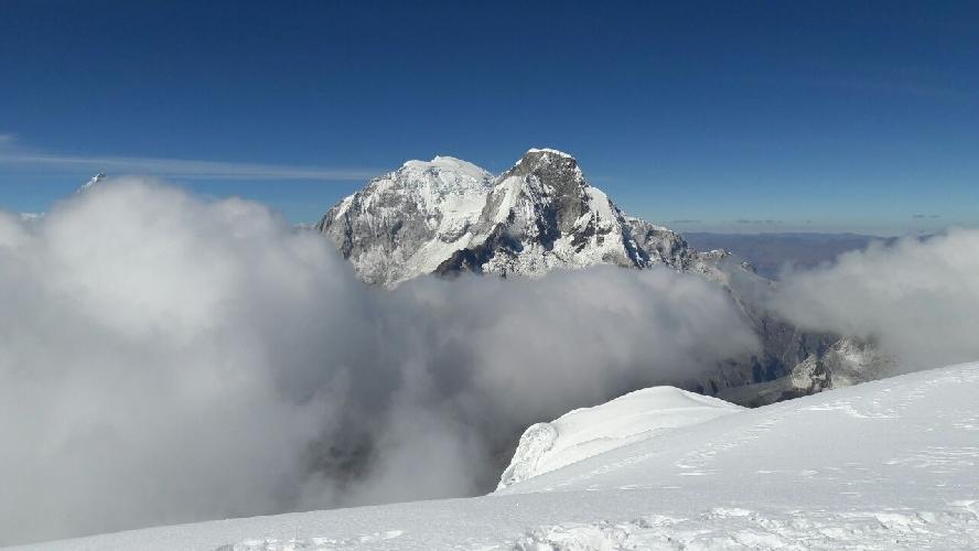 Группа Харьковских альпинистов в Андах