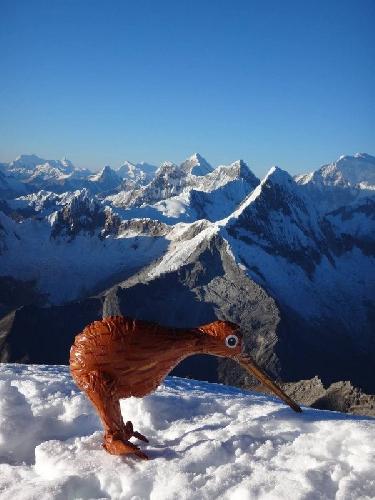 На отметке 5945 метров